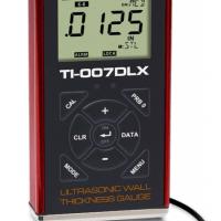Spessimetro ad ultrasuoni modello TI-007DLX per misurazioni ad alta risoluzione su metallo, plastica e pareti sottili