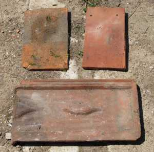 traditional French roof tiles