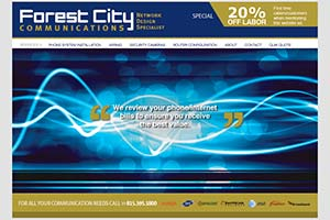 Forest City Communications Network Design Specialist