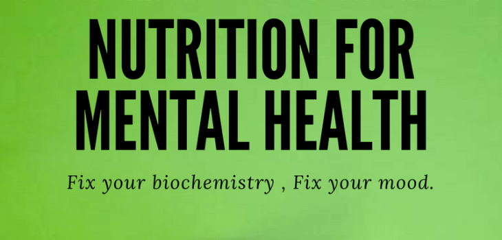 Nutrition for Mental Health: Guest Post from the Mood Food Clinic