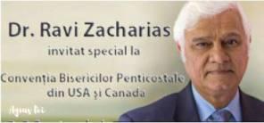 Ravi Zacharias Conventia Bisericilor Penticostale Chicago 2016