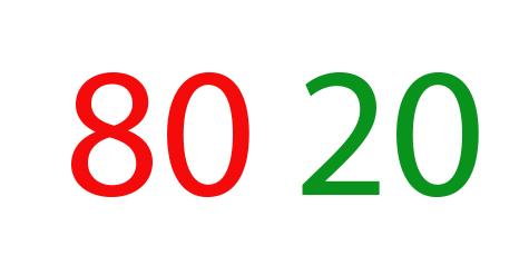 80 20