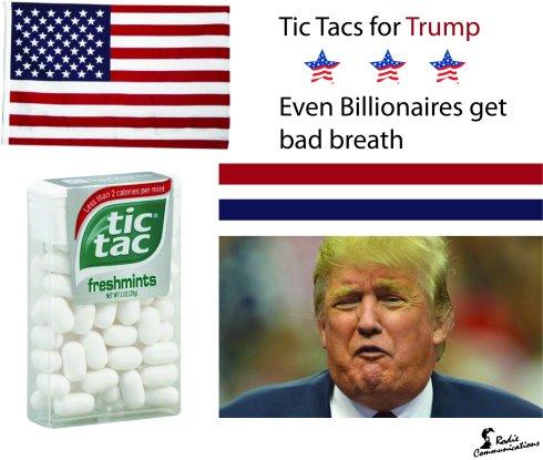 Tic Tacs for Trump