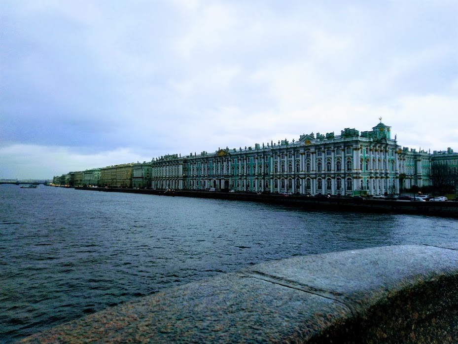Санкт-Петербург под дождем