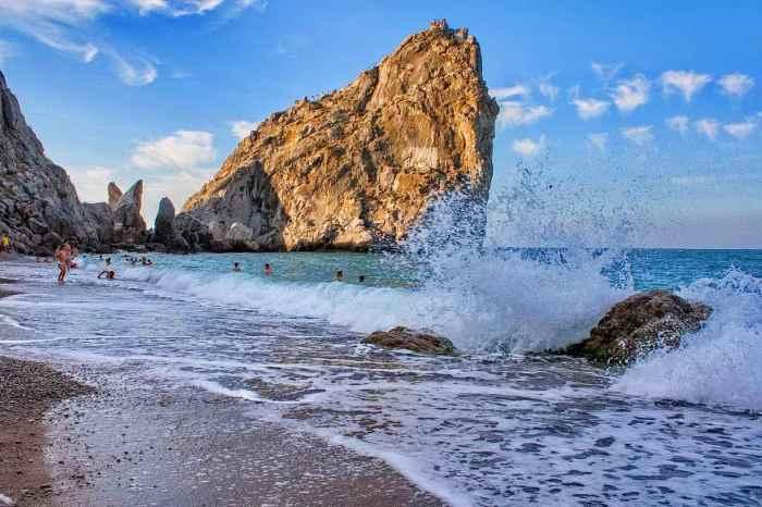 Фото пляжа Дива Симеиз5