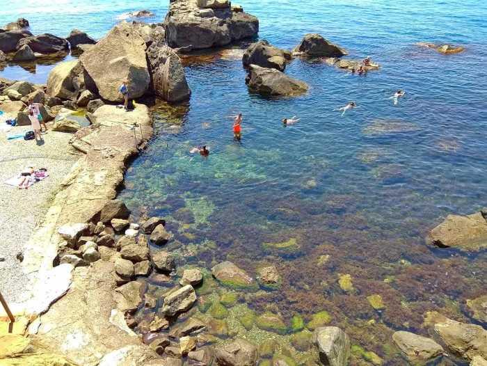 Фото пляжа Зелёный мыс Алупка5