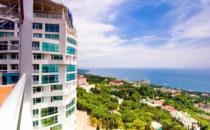 Фото VIP-пляжа комплекса Respect Hall Кореиз