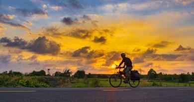 Sunset Cycling Bicycle Cyclist Man  - TranDuyet / Pixabay