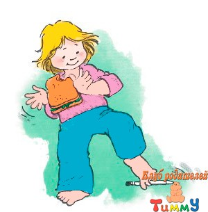 Развитие ребенка 5-6 лет: без рук