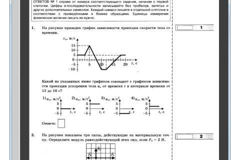 ЕГЭ - 2016. Физика. Типовые тестовые задания (рис. 1)