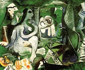 Le Dejeuner sur L'herbe -Pablo Picasso