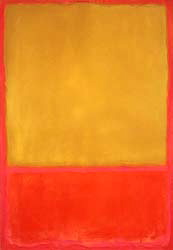 Rothko -Ochre and Red on Red