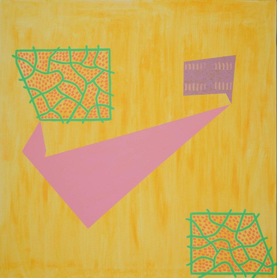 Communique - Oil on Canvas