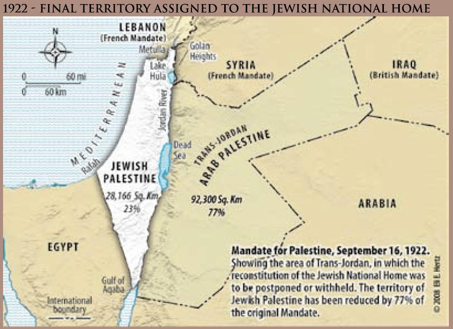 1922 Palestine Mandate