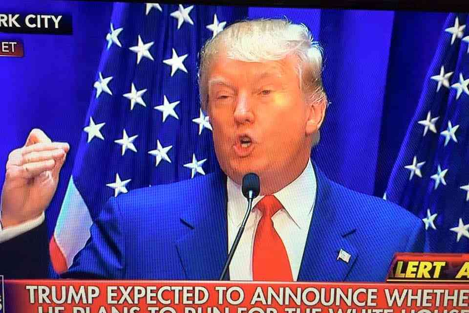 The Trump Candidacy Becomes Real