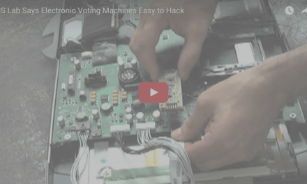 U.S. Lab: Electronic Voting Machines Shockingly Easy to Hack