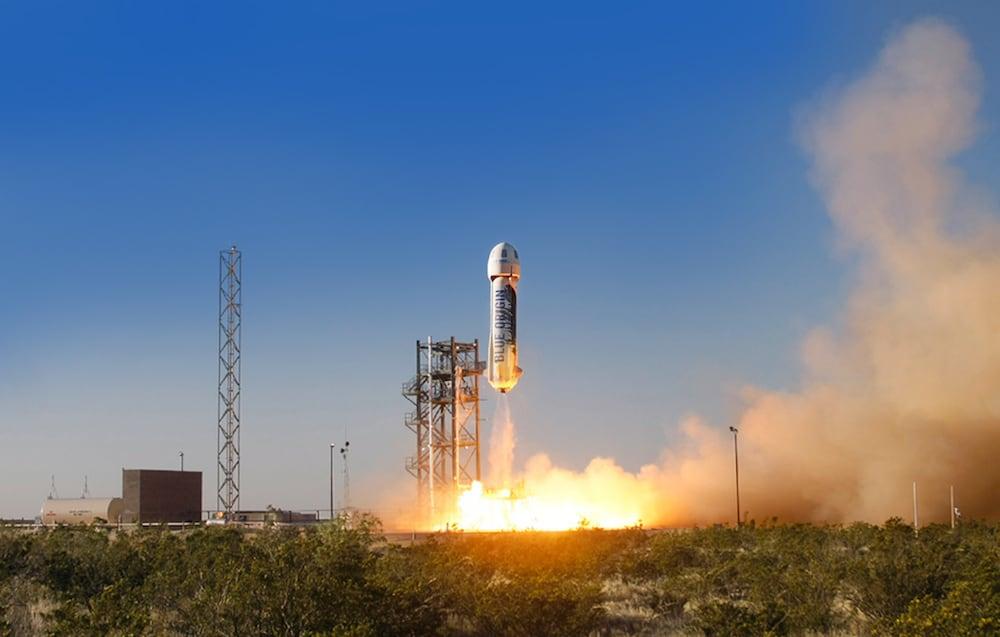 Jeff Bezos' Blue Origin Successfully Lands Capsule, Rocket