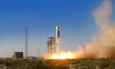 Jeff Bezos' Blue Origin Successfully Lands Capsule, Rocket