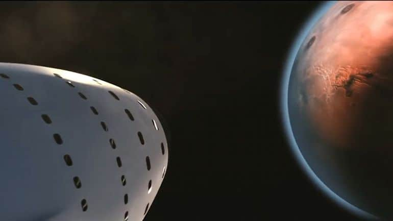 SpaceX Reveals Its Plan to Colonize Mars