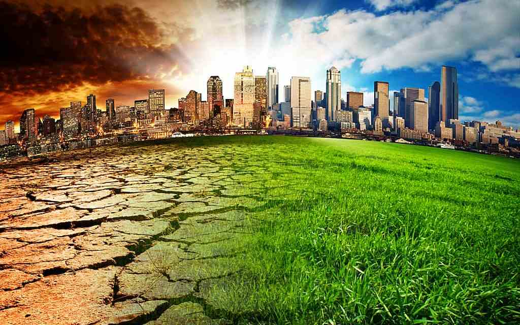 Global Warming Versus Global Greening
