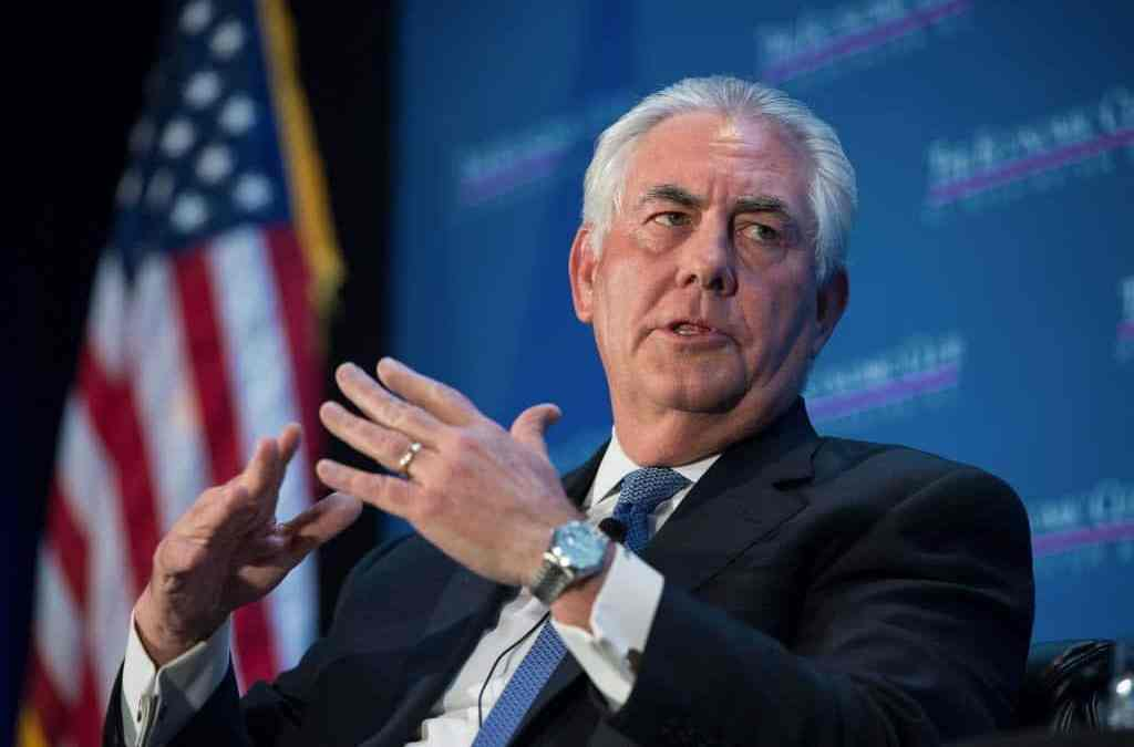 My Five Days With Rex Tillerson