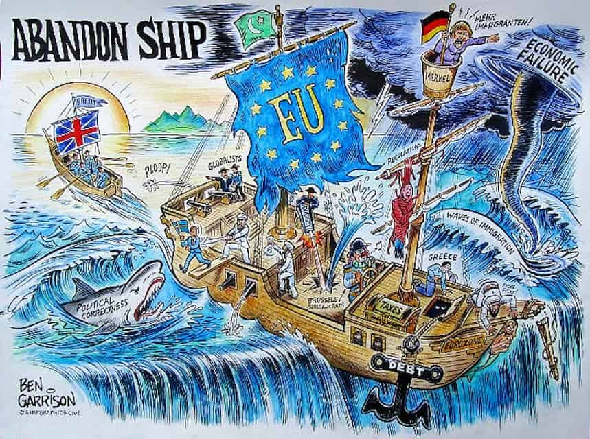 The Collapse of the EU Empire