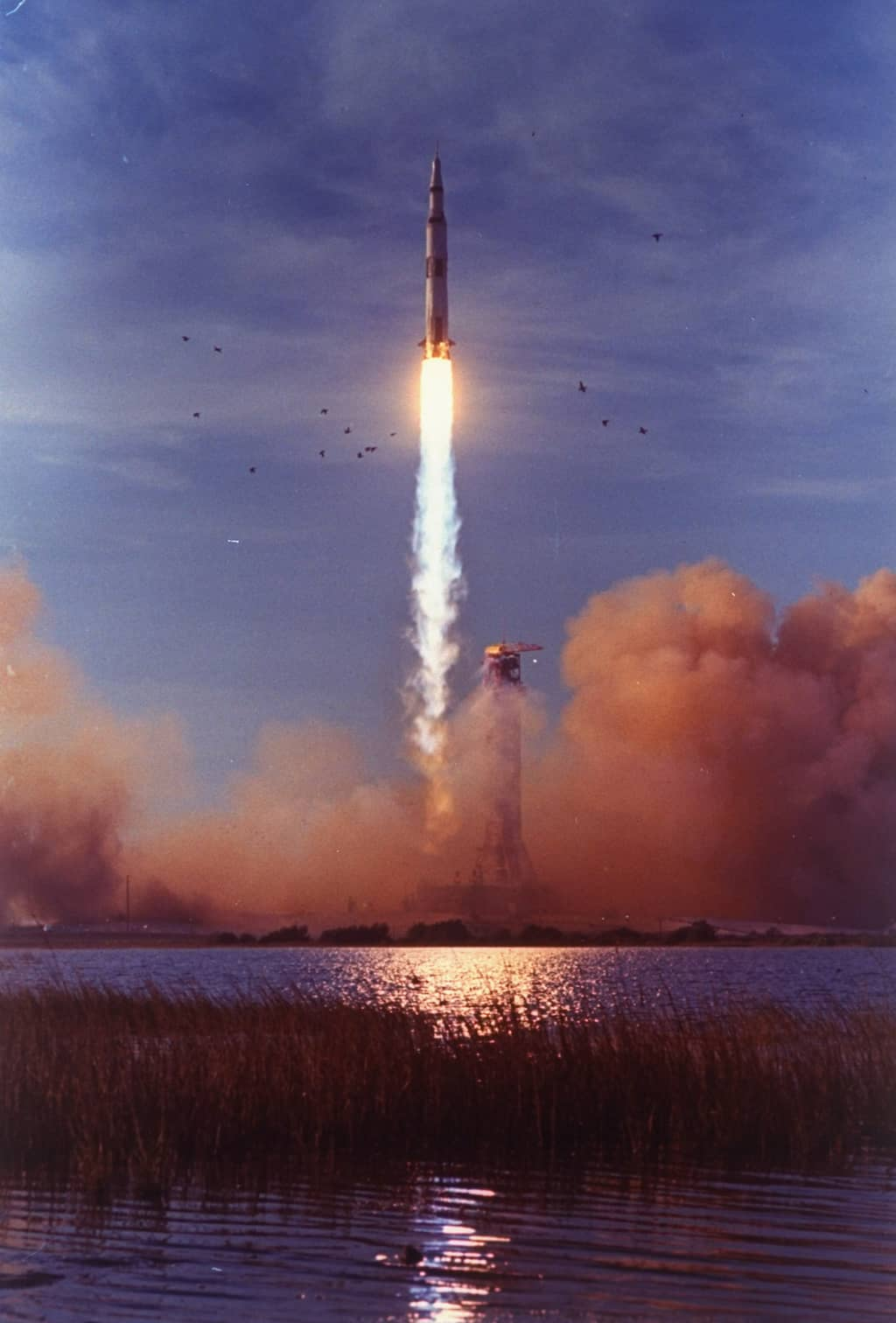 Liftoff of Apollo 8. (Photo by Ralph Morse/The LIFE Picture Collection/Getty Images)
