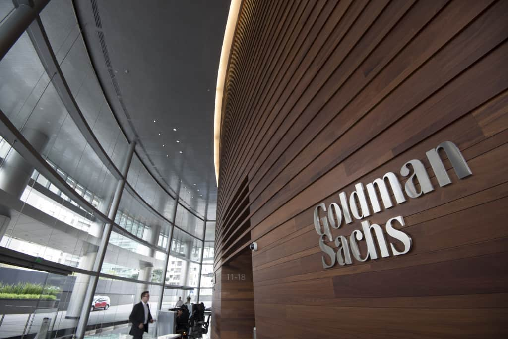 Goldman Sachs headquarters office in Sao Paulo, Brazil