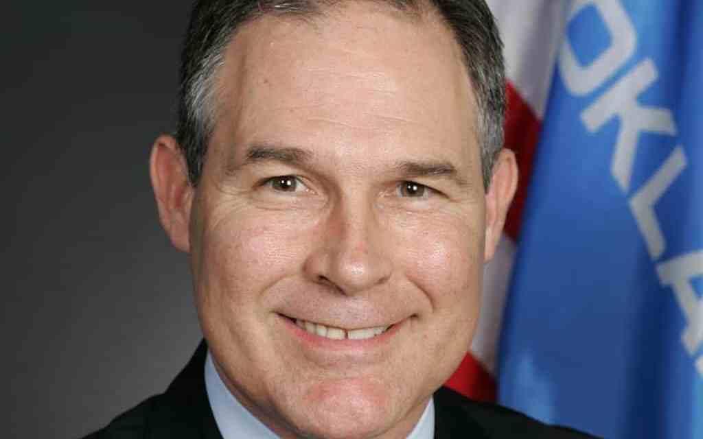 Open Letter Supporting Scott Pruitt for EPA Administrator