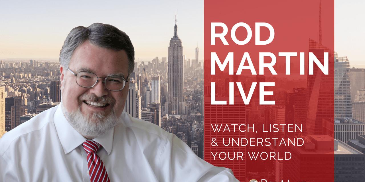 Rod Martin LIVE – August 10, 2017
