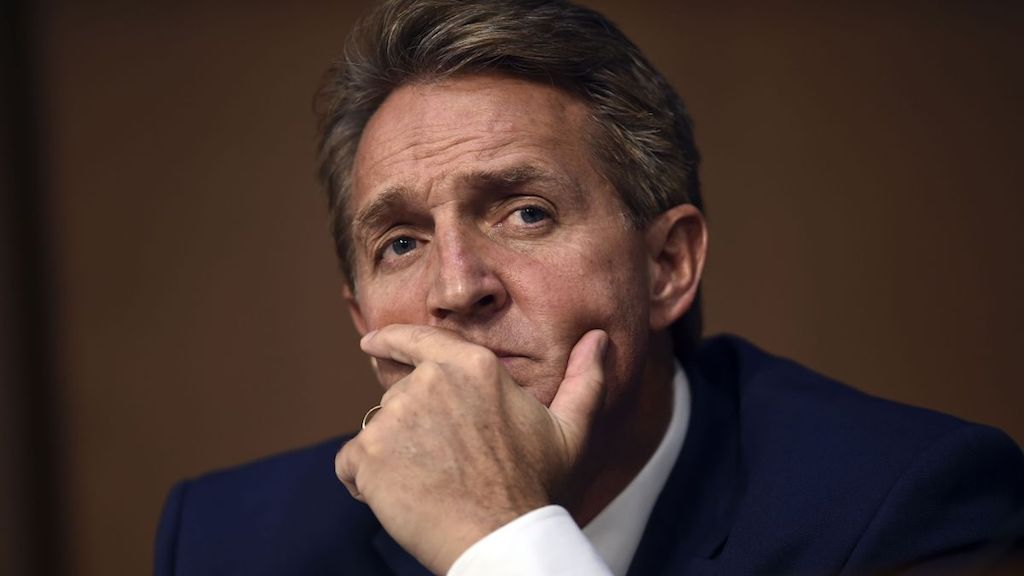 Jeff Flake Demands a Seventh FBI Investigation of Kavanaugh