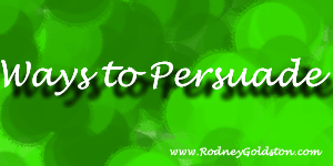 Ways to persuade – The everyone does this method