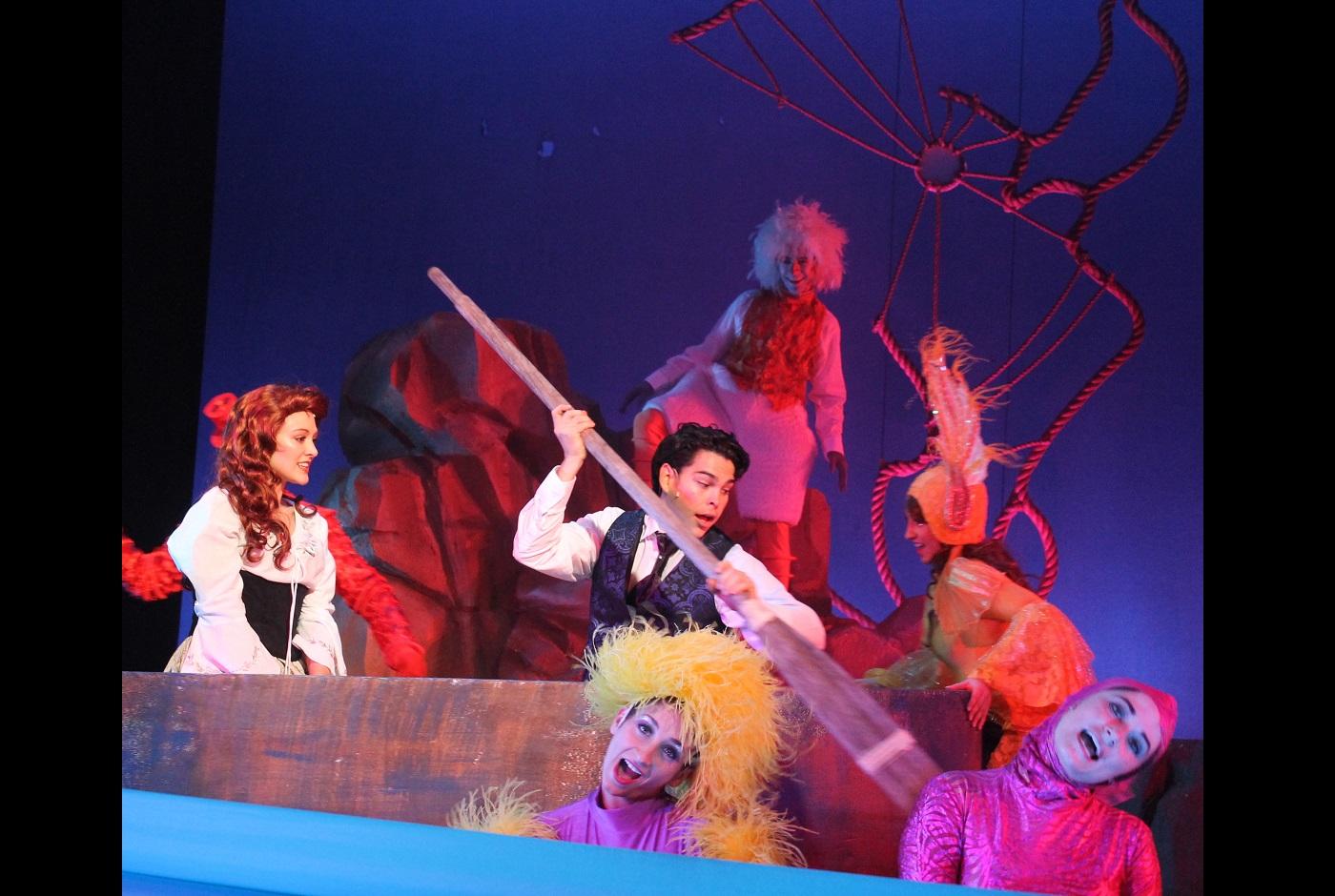 Rodney Ingram in Little Mermaid, White Plains Performing Arts Center