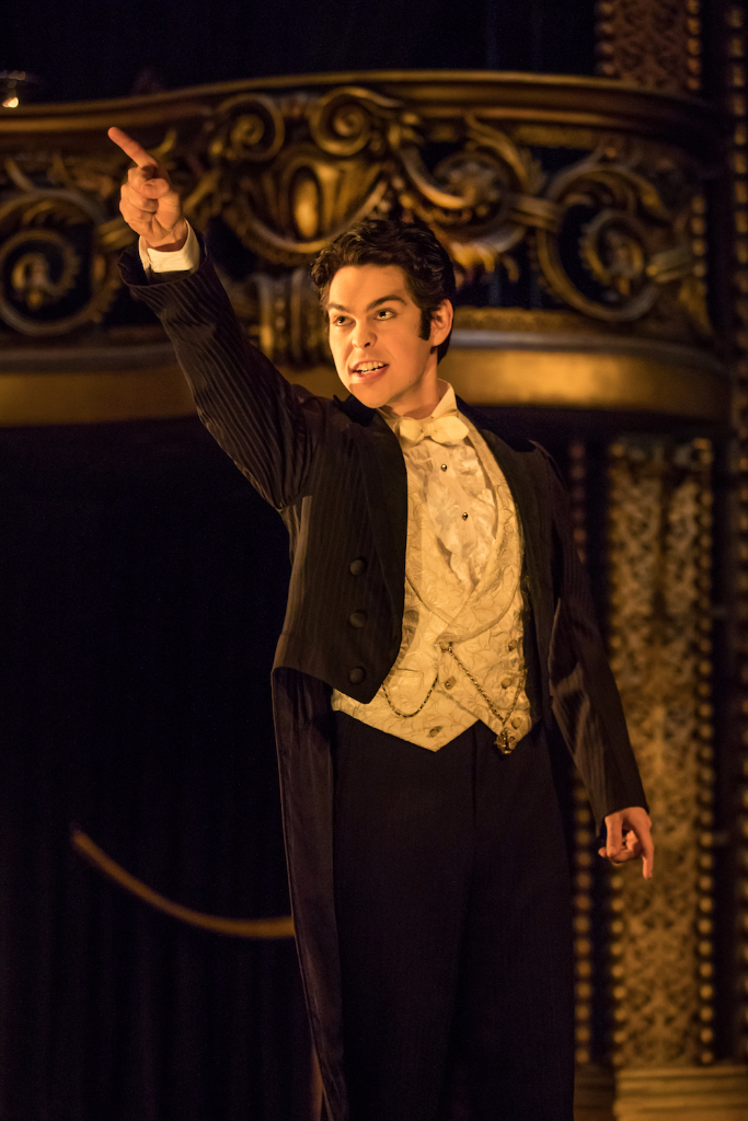 Rodney Ingram as Raoul in Phantom of the Opera on Broadway