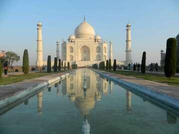 Reflections of the Taj Mahal