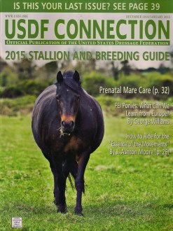 Other Writing: USDF Connection December 2014/January 2015