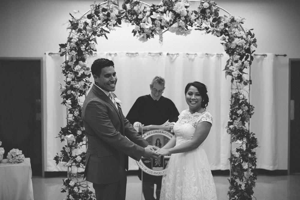 013- Cynthia and David - Beverly HIll Courthouse Wedding