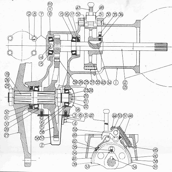 Wiring Diagrams : Allis Chalmers B10 Parts Diagrams