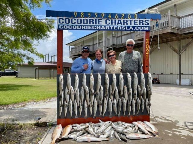 Poag Family from Tennessee-COCODRIE CHARTERS