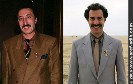 the real borat is