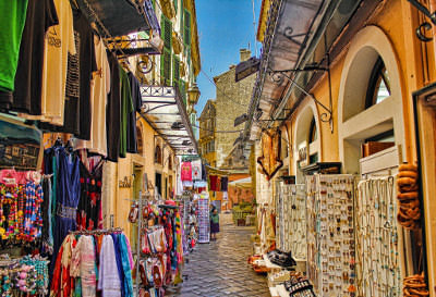 Corfu Town - Shops