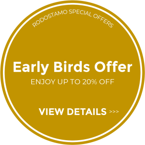 EarlyBirds - Corfu 5 Star Hotel Rodostamo Hotel & Spa