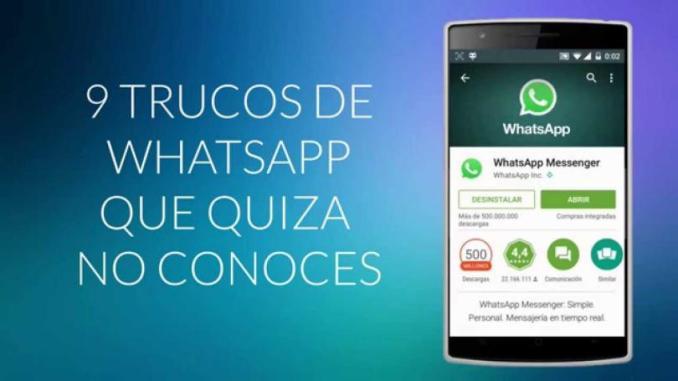 Trucos WhatsApp
