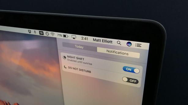 activar Modo Nocturno en Ordenadores Mac OS
