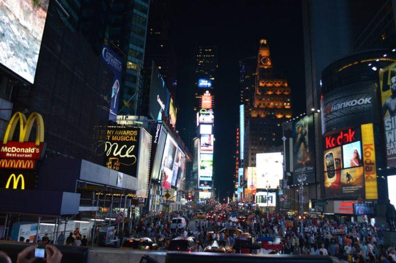 Times Square, NY.