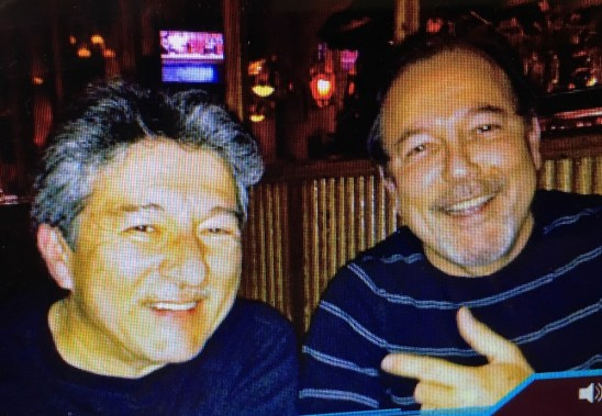 With Rubén Blades