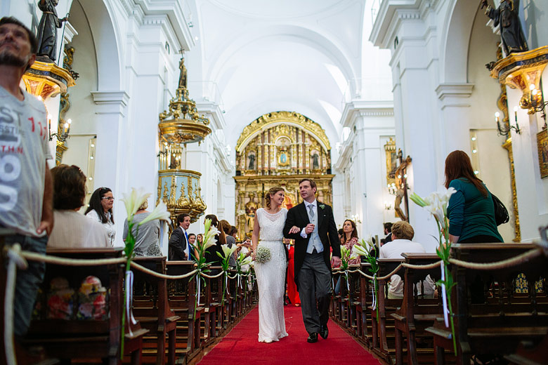 Fotos de boda en la Iglesia Nuestra Señora del Rosario en Buenos Aires
