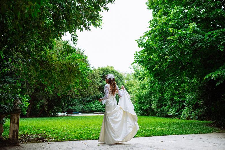 Foto de casamiento moderna