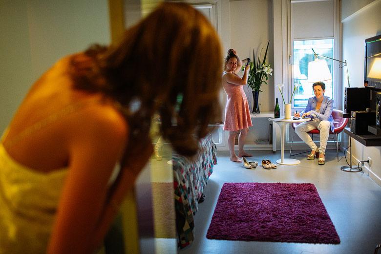 Foto reportaje de un casamiento de personas del mismo sexo