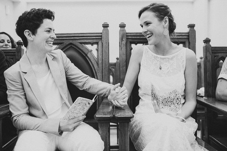 Ceremonia civil de casamiento entre personas del mismo sexo